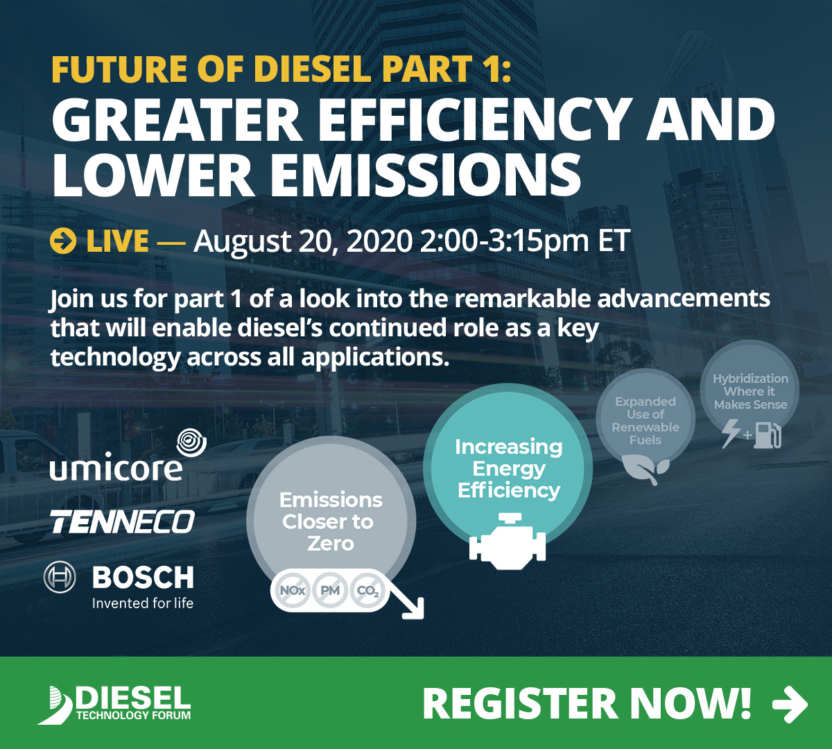 Webinar Part 1 Future of Diesel