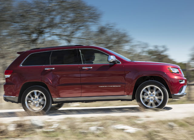 Jeep® Grand Cherokee EcoDiesel Named 2015 Green SUV of the