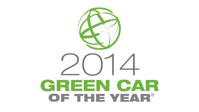 Green Car Journal's Green Car of the Year Logo (globe)