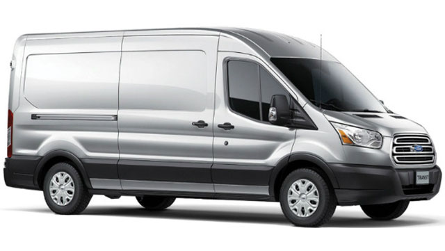 2013 Ford transit diesel vehicle