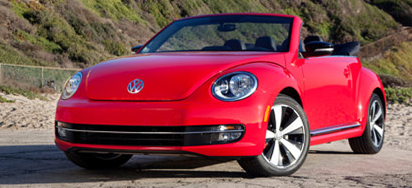 Volkswagen VW Beetle Convertible TDI Clean Diesel Vehicle
